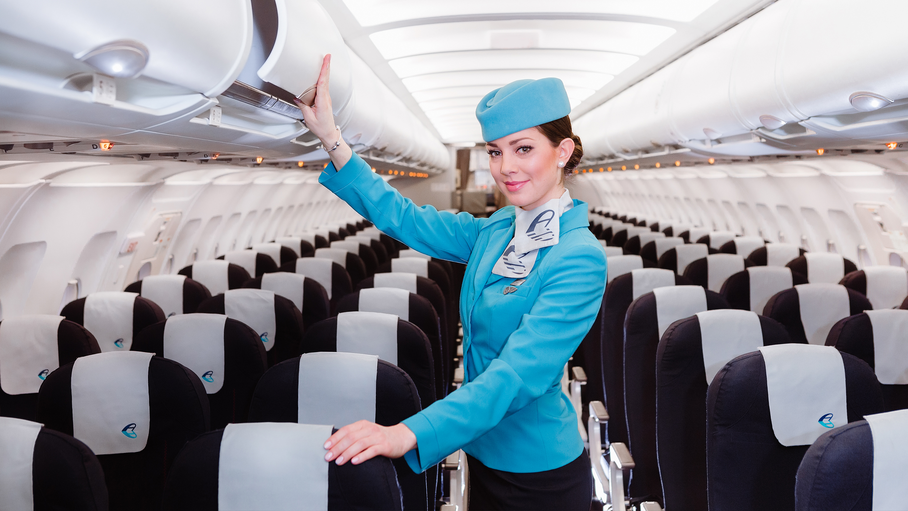 Stewardess von Adria Airways