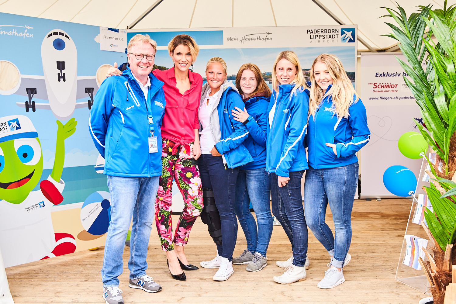 Marketing team with Anna-Maria Zimmermann