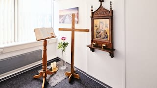 ecumenical prayer room